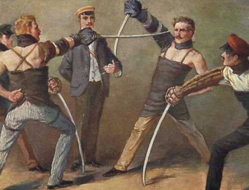 Historical Development of Fencing Sports